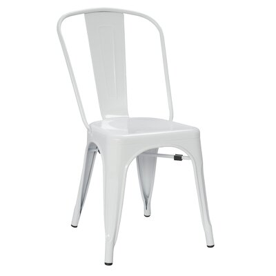 Castalia Side Chair Finish: White