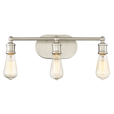 Laurel Foundry Modern Farmhouse Agave 3-Light Vanity Light Fixture