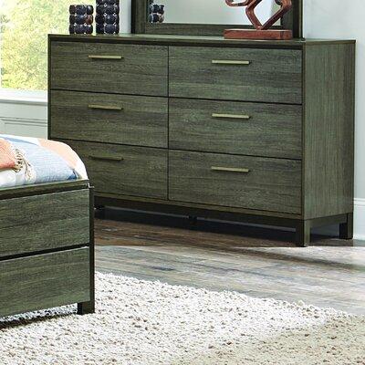 Adam 6 Drawer Double Dresser