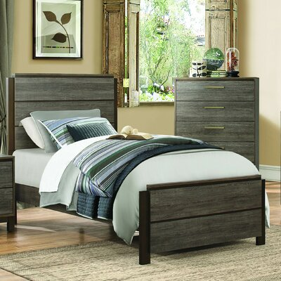 Adam Panel Bed Size: Twin