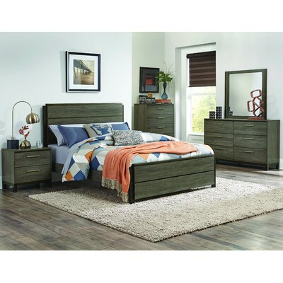 Adam Panel Customizable Bedroom Set