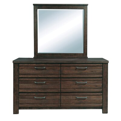 Tioga 6 Drawer Dresser