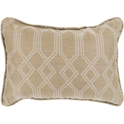 Adairsville Indoor/Outdoor Lumbar Pillow Color: Camel