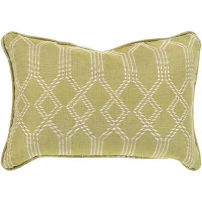 Adairsville Indoor/Outdoor Lumbar Pillow Color: Lime