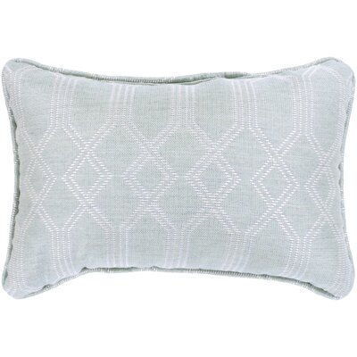 Adairsville Indoor/Outdoor Lumbar Pillow Color: Seafoam