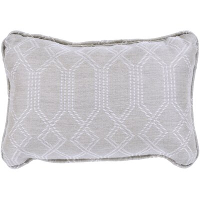 Adairsville Indoor/Outdoor Lumbar Pillow Color: Gray
