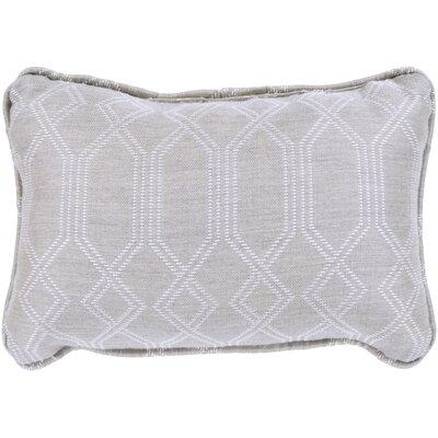 Adairsville Indoor/Outdoor Lumbar Pillow Color: Gray