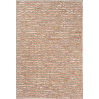 Amelia Brown/Pink Indoor/Outdoor Area Rug Rug Size: Rectangle 711 x 1010