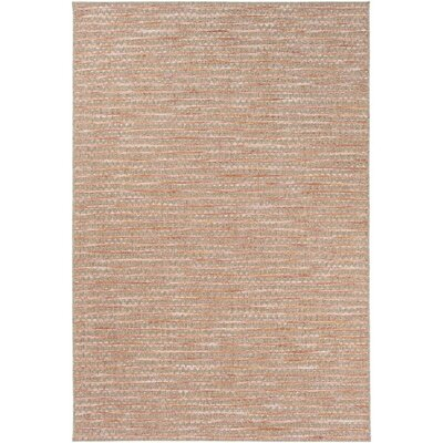 Amelia Brown/Pink Indoor/Outdoor Area Rug Rug Size: 711 x 1010