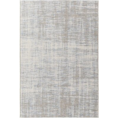 Alston Blue Indoor/Outdoor Area Rug Rug Size: 53 x 77