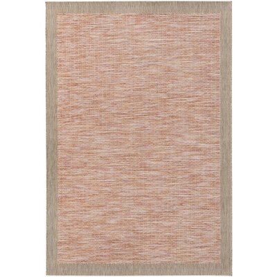 Amelia Orange/Red Indoor/Outdoor Area Rug Rug Size: Rectangle 711 x 1010