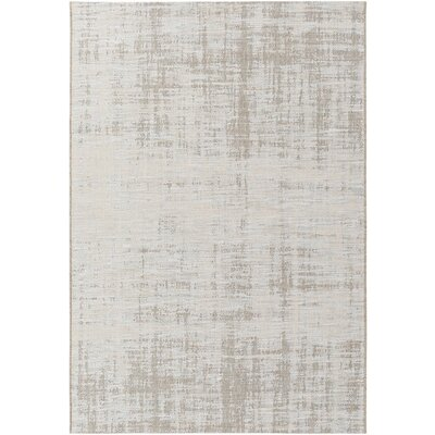 Alston Brown/Neutral Indoor/Outdoor Area Rug Rug Size: 53 x 77