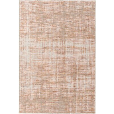 Alston Orange/Red Indoor/Outdoor Area Rug Rug Size: Rectangle 53 x 77