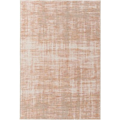 Alston Orange/Red Indoor/Outdoor Area Rug Rug Size: 53 x 77