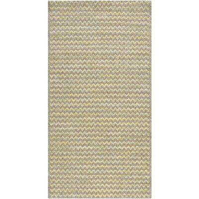 Alexandra Brown/Green Indoor/Outdoor Area Rug Rug Size: 311 x 57
