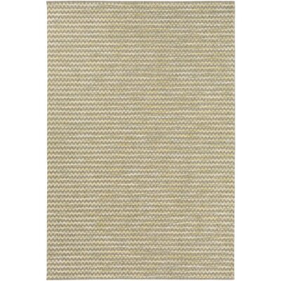 Alexandra Brown/Green Indoor/Outdoor Area Rug Rug Size: Rectangle 53 x 77