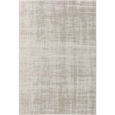 Alston Brown/Gray Indoor/Outdoor Area Rug Rug Size: 53 x 77