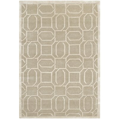 Hudnall Hand-Knotted Mint Area Rug Rug Size: Rectangle 8 x 10