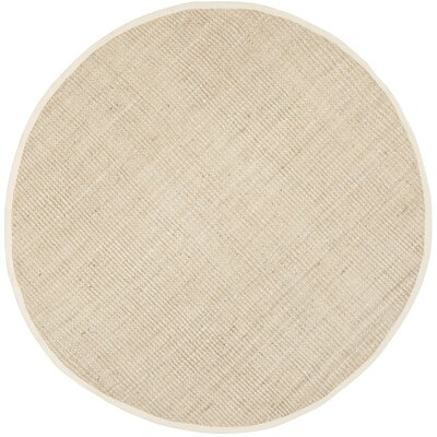 Muriel Hand-Woven Ivory Area Rug Rug Size: Rectangle 3 x 5