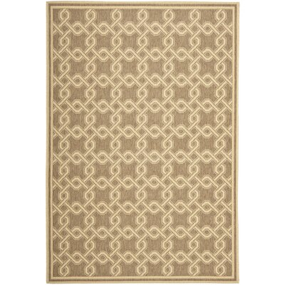 Beige/Gray Area Rug Rug Size: Rectangle 8 x 112