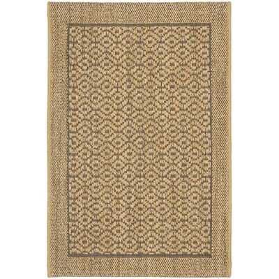 Grampian Beige/Gray Area Rug Rug Size: Rectangle 4 x 6