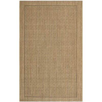 Grampian Beige/Gray Area Rug Rug Size: Rectangle 6 x 9
