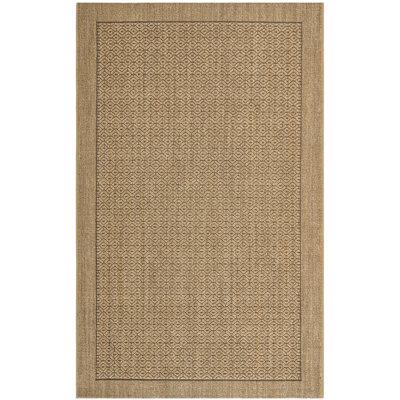 Grampian Beige/Gray Area Rug Rug Size: 8 x 11