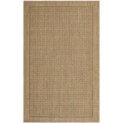 Grampian Beige/Gray Area Rug Rug Size: 5 x 8