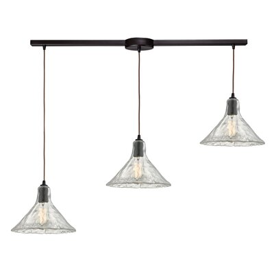 Marshun 3-Light Kitchen Island Pendant