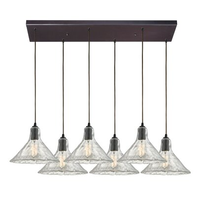 Marshun 6-Light Kitchen Island Pendant