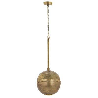 Alfortville Globe Pendant Size: 13.5 H x 12 W x 12 D