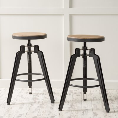 Arda Swivel Bar Stool