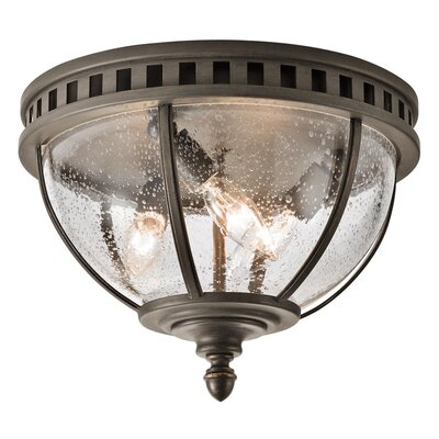 Tumecia 3-Light Flush Mount