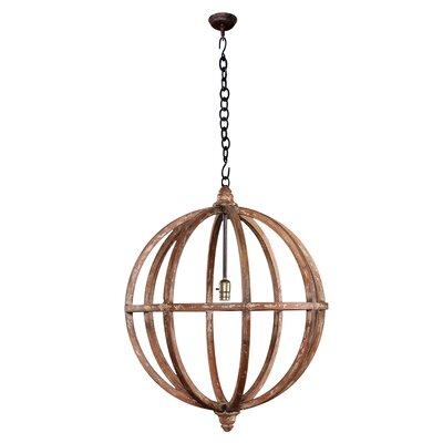 Marie 1-Light Globe Pendant