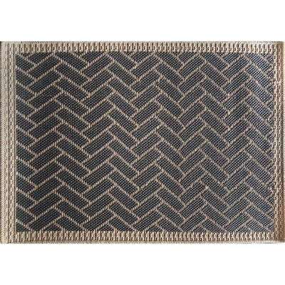 Anne Gray/Ivory Area Rug Rug Size: 111 x 212