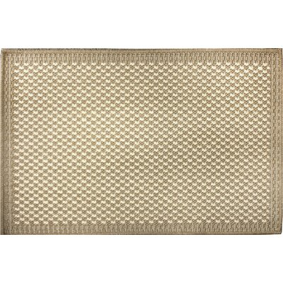 Anne Beige/Ivory Area Rug Rug Size: 17 x 27