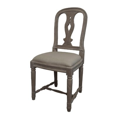 Braswell Side Chair Finish: Natural