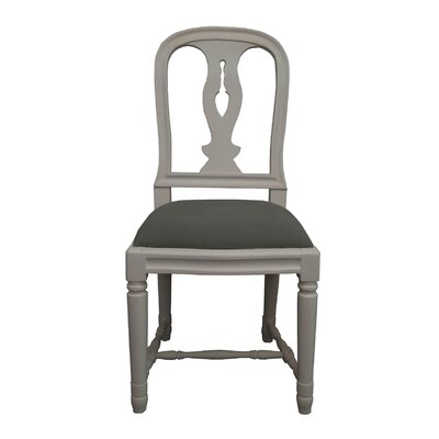 Braswell Side Chair Finish: Gray Linen