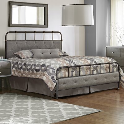 Argens Upholstered Panel Bed Size: Full