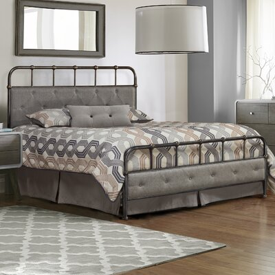 Argens Upholstered Panel Bed Size: Queen