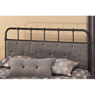 Argens Upholstered Panel Headboard Size: King