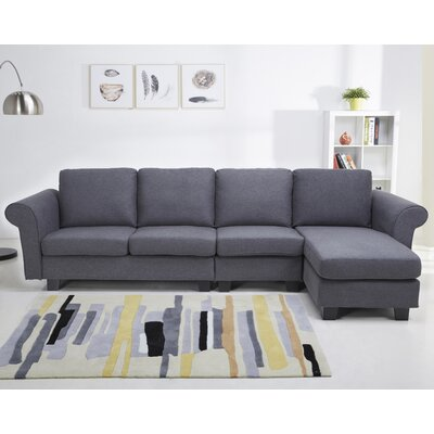LRFY1689 32536954 Laurel Foundry Modern Farmhouse Gray Sectionals