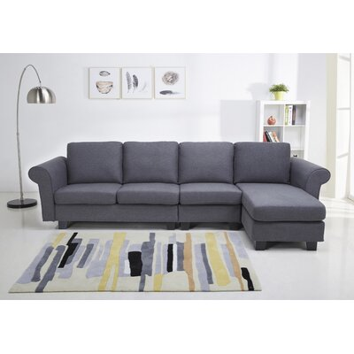 Riverdale Modular Sectional Upholstery: Gray
