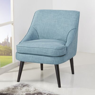 Donnellson Upholstered Accent Chair Upholstery: Ocean