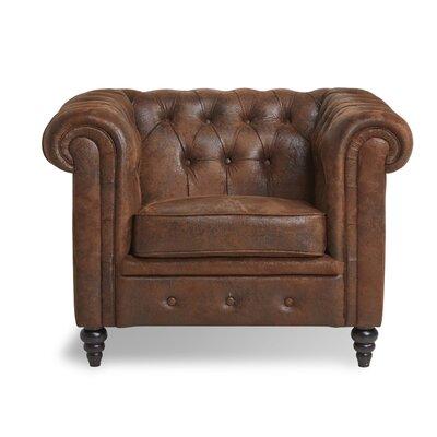 Arline Button Tufted Arm Chair