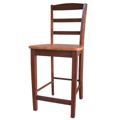 Canon 24 Bar Stool Finish: Cinnamon / Espresso