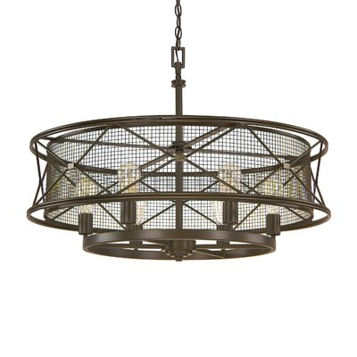Ashley 6-Light Drum Pendant