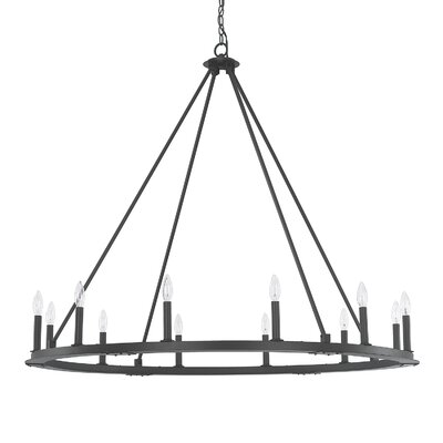 Shayla 12-Light Candle-Style Chandelier