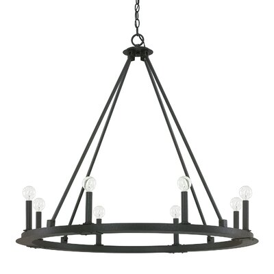 Shayla 8-Light Candle-Style Chandelier