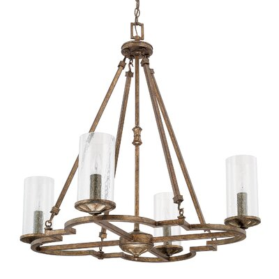 Ashburn 4-Light Candle-Style Chandelier